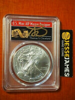 2019 SILVER EAGLE PCGS MS70 CLEVELAND MINUTEMAN FIRST DAY ISSUE FDI POP 50 W