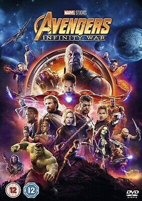 Avengers Infinity War DVD Movie 2018 Region 2