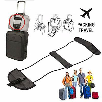 Travel Luggage Strap Suitcase Adjustable Tape Belt Add A Bag Carry On Bungee AU