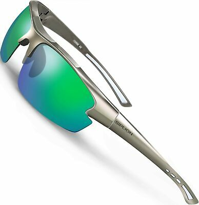 6730f75ee8 SIPLION Men s Polarized Sunglasses Sports Glasses for Cycling Fishing Gol.