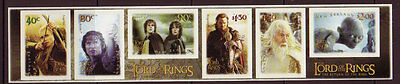 New Zealand 2003 Lord Of The Rings Part 3 Self Adhesive Unmounted Mint