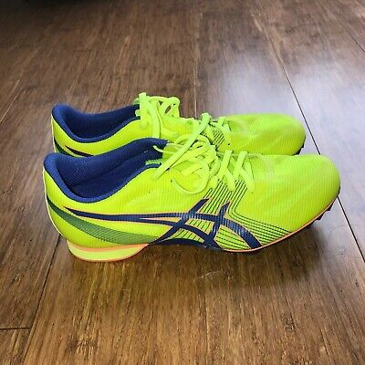 16922fc89c ASICS HYPER MD 6 Yellow Black Men Running Shoes Sneakers G502Y-0790 ...