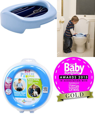 Potette Plus 2-in-1 Travel Potty (Blue/Navy)