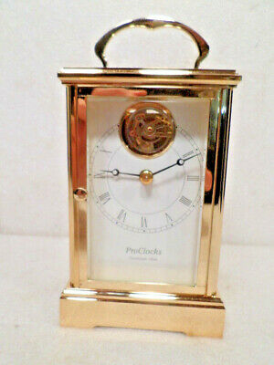 French Style Heavy Brass Tourbillon Carriage Clock-Limited Edition ProClocks