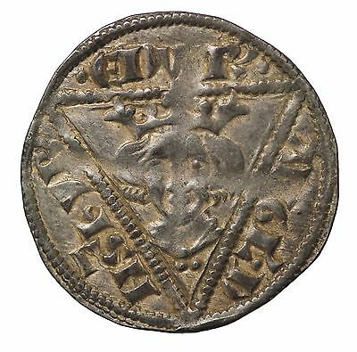 Ireland Edward I 1272-1307 AD AR Penny Waterford S.6249 Medieval Hammered Coin