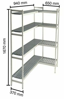 Shelf System for Cold Rooms,650+940 x 370 x 1670 MM