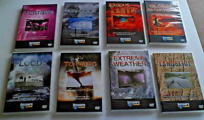 Natures Fury 8 DVD Box Set Discovery Channel