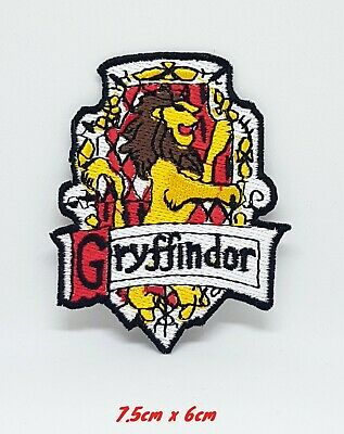 Harry Potter Gryffindor-A Iron Sew on Embroidered Patch #151