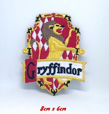 Harry Potter Gryffindor-B Iron Sew on Embroidered Patch #151-B
