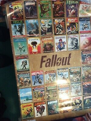 Fallout 4 Poster Fp4135 Magazine Covers Brand New