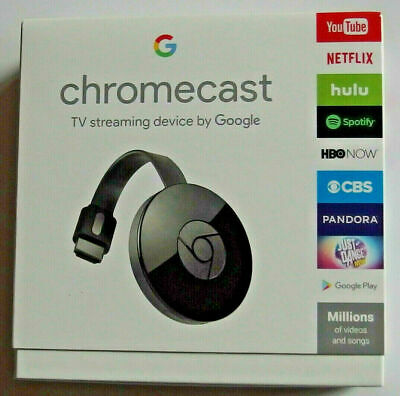 NEW in SEAL Chromecast 2nd Generation 1080P HD Media Streamer -✔ FREE SHIPPING ✔
