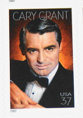 2002 sheet Legends of Hollywood: Cary Grant Sc# 3692