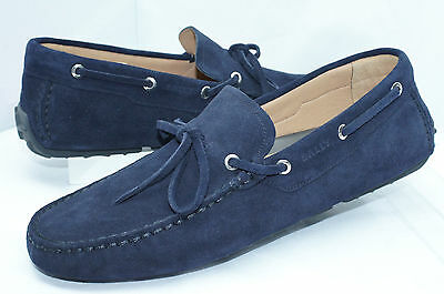 6c73d52141f New Bally Men s Shoes Blue Loafers Dramer Size 11 Drivers Suede Sale Gift