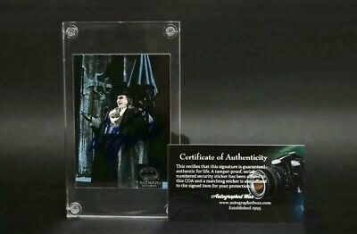 Batman Returns Autographed Signed Trading Card Danny DeVito Penguin w/COA