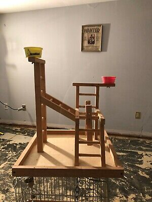Large Cockatiel Play Pen with Ladders