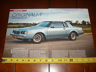 2015 Buick Grand National >> 1985 Buick Grand National T Type Turbo 3 8 Original 2015