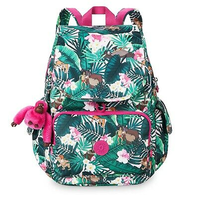 9c44b2abe98 Kipling Backpack NWT  134 Disney Jumpin Jungle Book Bag City Pack Big  Pockets