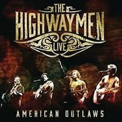 THE HIGHWAYMEN Live - American Outlaws Pack 3CD/BLU-RAY NEW