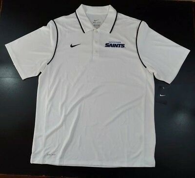 172b93b8aac8 NEW Nike Golf Shirt Size Large Moisture Wicking Santa Fe College Dri-Fit  Polo