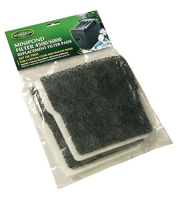 Blagdon Mini-Pond Carbon and Wool Replacement (Pack of 6)