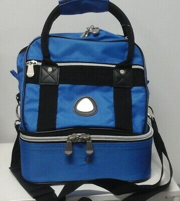 Small 4 Bowl Carry Bag Midi holds 4 lawn bowls light weight with shoulder strap