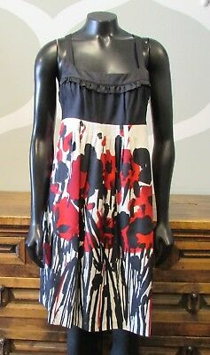 8d3111bece1 MARIMEKKO TARGET SLEEVELESS Dress Small Okariino Print Black White ...