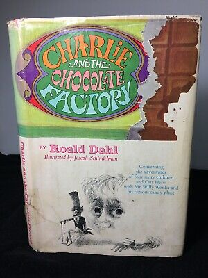 1964 Charlie and The Chocolate Factory , Hardcover, Book Club Edition