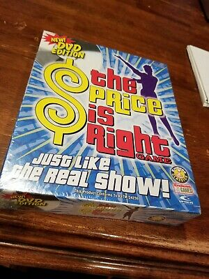 2005 The Price Is Right (Endless Games) (PC) DVD Edition New Sealed