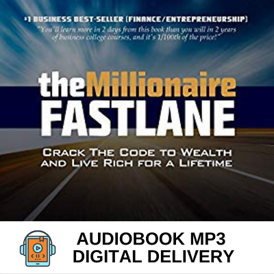 AudioBook The Millionaire Fastlane -Crack the Code to Wealth And Live Rich