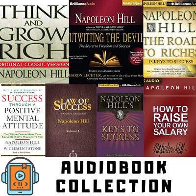 Napoleon Hill Ultimate 7 Audiobook Collection - Rich Wealth Money Audiobooks Mp3