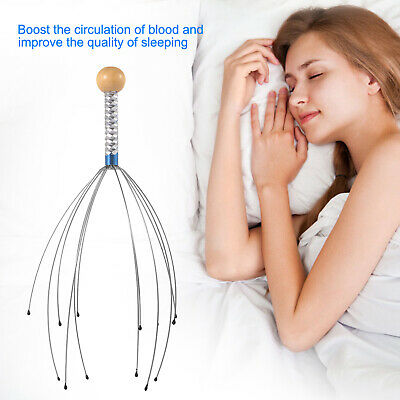 3 Pack Scalp Massager Therapeutic Head Scratcher for Deep Relaxation Massage