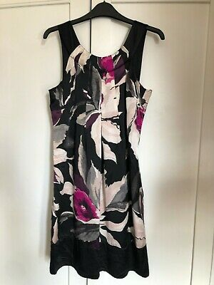 c471188a5b2 TED BAKER DRESS Panashe Coral Orange With Cut Out Sz 3 - 12 New ...