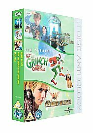 Nanny Mcphee/The Grinch/Peter Pan [DVD], Good, DVD, FREE & Fast Delivery