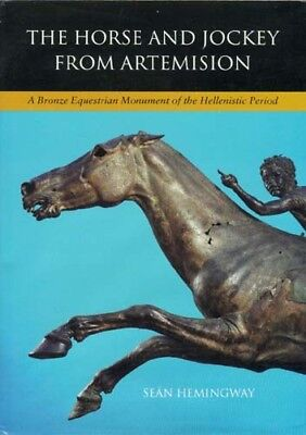 Artemision Bronze Sculpture Race Horse & Jockey Euboia Greece Hellenic Shipwreck