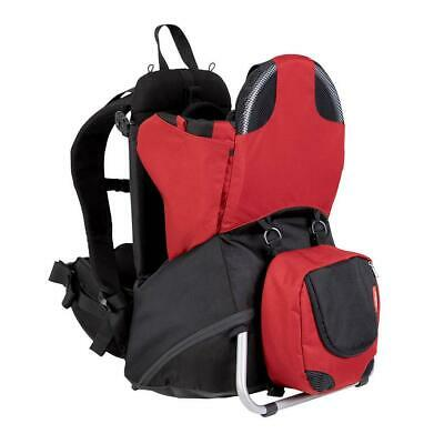 Phil & Teds Parade Baby Carrier (Chilli/Grey) - Suitable From 6 Months