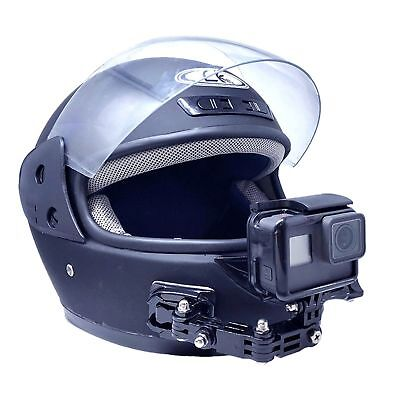 Motorcycle Full Face Helmet Chin Mount Holder Kit for GoPro Hero 6 5 4 3 Camera