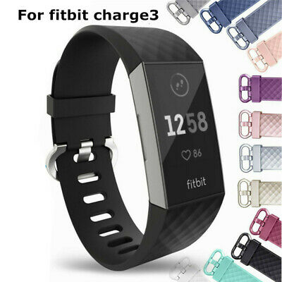 Best Replacement Wrist Straps Accessory Watch Wristband For Fitbit Charge 3 UK