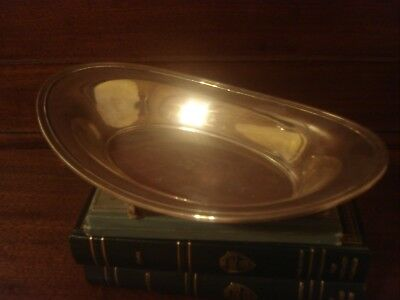 Art Deco Large Tiffany Sterling Bowl, 359g or 13oz