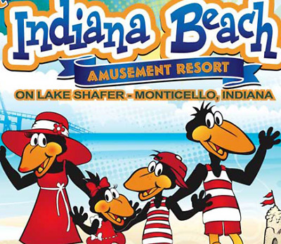 Indiana Beach Amusement & Waterpark Tickets $33  A Promo Savings Discount Tool