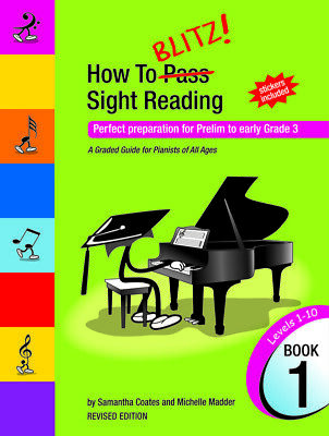 How To Blitz Sight Reading Book 1 (Pre - Gr3)