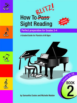 How To Blitz Sight Reading Book 2 (Gr3 - Gr4)