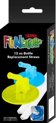 Thermos Replacement Straws for 12 Ounce Funtainer Bottle Clear (F401RS6) New US