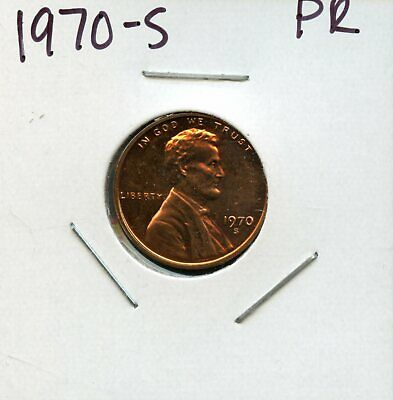 1970-S 1C United States Proof Lincoln Memorial Cent Bc481