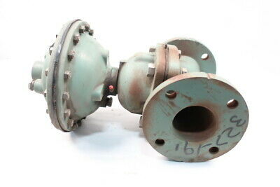 Itt Grinnell 303-109 Iron Flanged 3in Diaphragm Valve