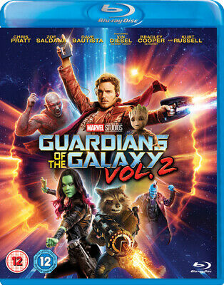 Guardians of the Galaxy: Vol. 2 DVD (2017) Chris Pratt ***NEW***
