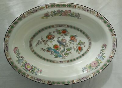Wedgwood 1st Quality Kutani Crane R4464 Oval Serving Bowl VGC
