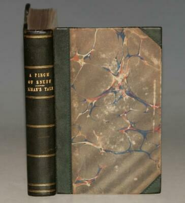 James Baillie Fraser A Pinch-Of Snuff & The Khan's Tale Fine Binding 1840 1850