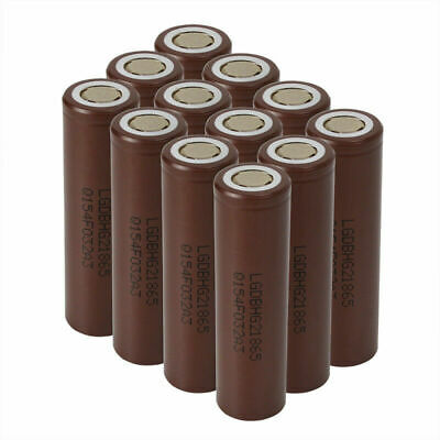 LG INR 18650 HG2 3000mAh High Drain Rechargeable Lithium Battery Flat Top