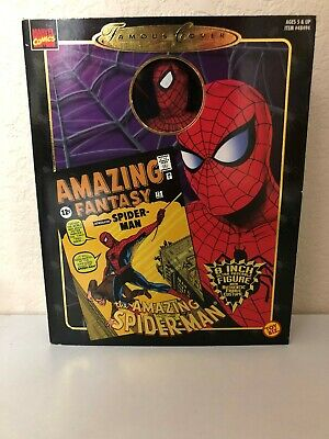 "1997 ToyBiz the AMAZING SPIDER-MAN  Famous Cover 8/"" Amazing Fantasy Figure"