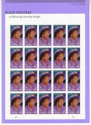 Us Scott 5171 Pane Of 20 Dorothy Height Stamps Forever Mnh